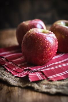 Red apples !
