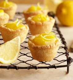 Lemon Tassies from the Better Homes and Gardens Must-Have Recipes App