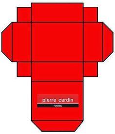 Cajita de Pierre Cardin para Imprimir Gratis.