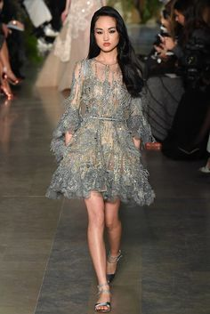 Elie Saab - Paris Fashion Week - Primavera Verano 2015 - Fashion Runway