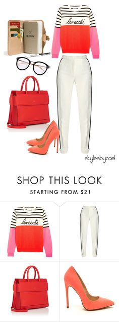"""""""#stylesbycael"""" by stylesbycael ❤ liked on Polyvore featuring Chinti and Parker, Elie Saab, Givenchy and Billykirk"""