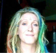 DIY dreads, colored with oil pastels. - How To Hair - DIY Hair Resource From How To Hair Girl