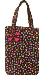 A trendy tote bag with complimentary lining inside. This handy bag is a must have for any serious shopper.  RRP: 15.00