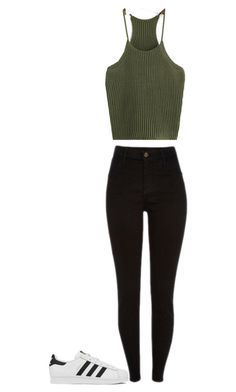"""""""Untitled #53"""" by brittney348 on Polyvore featuring adidas"""