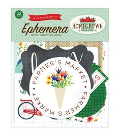 Echo Park Paper Company™ Homegrown Cardstock Die-Cuts-Ephemera