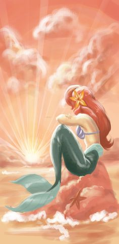 Ariel I feel like this could make a really cool watercolour tattoo
