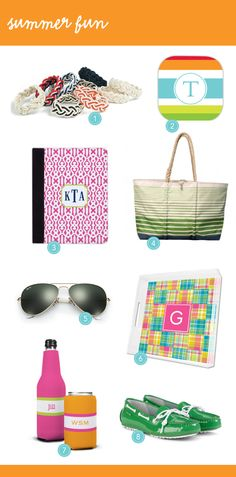 Live Your Style by Boatman Geller: Summer Fun! #monograms #iPad