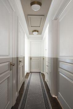 Marvelous Home Corridor Design Ideas That Looks Modern 08 Marvelous Home Corridor Design Ideas That Looks Modern 08 Ceiling Design, Wall Design, Design Design, Flur Design, Wallpaper Ceiling, Hallway Designs, Hallway Ideas, Entryway Ideas, Wall Ideas