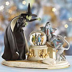 Lenox Wizard of Oz. Somewhere Over, Wicked Witch, Over The Rainbow, Wizard Of Oz, The Wiz, Snow Globes, It Cast