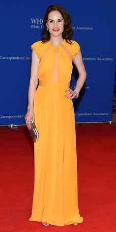 See All the Stars Bringing the Glam Factor to the 2016 White House Correspondents' Dinner - Michelle Dockery  - from InStyle.com