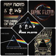 Tricouri originale Pink Floyd. #romania #tricou #tricouri #pinkfloyd #darksideofthemoon Pink Floyd, Metalhead, Vw Bus, Dark Side, Matte Black, The Darkest, Image
