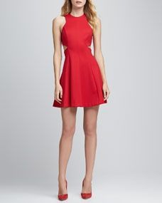 Amanda Uprichard, Juliette Cutout-Waist Dress