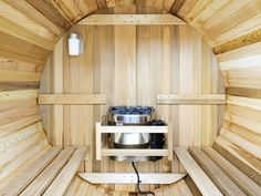 Relax and unwind in this fantastic sauna.