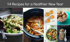14 HEALTHY RECIPES FOR THE NEW YEAR