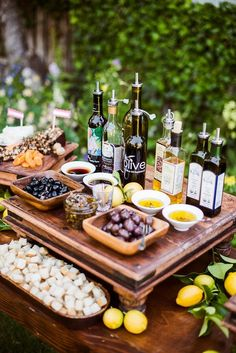 WineShop At Home: Why not serve various kinds of olive oils, olives and bread at your next wine tasting? Oodles of Mediterranean flair without the travel expense! http://ift.tt/Vk8jsC