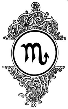 symbole tatouage signe astrologique scorpion fille  Signe