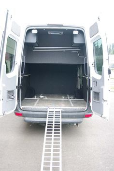 Van options are our specialty, with over a hundred van options and counting we are your one stop shop for all types of van options and customization! Van Conversion Interior, Camper Van Conversion Diy, Van Interior, Motocross, Stealth Camper Van, Motorhome, Sprinter Van Conversion, Sprinter Camper, Van Home