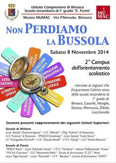 """""""2° Campus dell'orientamento scolastico""""  in programma sabato 8 dalle 8.30 alle 13.00. Ragazzi vi aspettiamo!"""