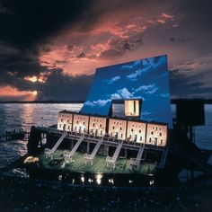 I love to see a show at Bregenz Festival Stage in Austria