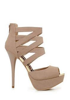 2b Angela Strap Heel