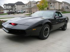 """Known as K.I.T.T (Knight Industries Two Thousand / Knight Industries Three Thousand), this is a car from """"Knight rider"""" series."""