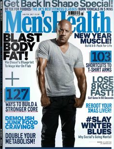 Details about men's health magazine vin diesel muscle abs workouts big arms fitness recipes Men's Health Magazine, Fitness Magazine, Vin Diesel, Muscle Fitness, Mens Fitness, Fitness Tips, Muscle Men, Health Fitness, Mens Health Uk