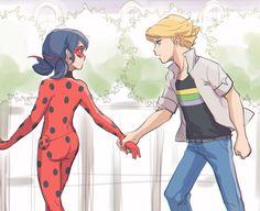 Miraculous Ladybug Fanfiction, Miraculous Ladybug Fan Art, Ladybug Art, Ladybug Comics, Adrien X Marinette, Au Ideas, Adrien Agreste, Arte Disney, Lady Bug