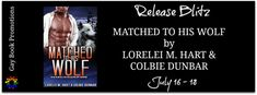 New Release - Matched To His Wolf by Lorelei M. Hart & Colbie Dunbar #KindleUnlimited Dating Apps, New Dating App, Kate Richards, Book Title, Book 1, Just Do It, Thats Not My, Undercover Agent, Why Bother