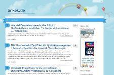 Stark verlinkter Wordpress Blog (Pressemitteilungen) linkek.de abzugeben! PR3 Wordpress blog mit Pressemitteilungen, sehr stark verlinkt über 1000 Backlinks! http://www.linkek.de/  Oben Webseite anklicken, gelangen sie zur Auktion.http://www.linkek.de/