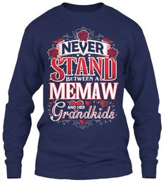 MEMAW AND HER GRANDKIDS ~ Tee / Long-Sleeve
