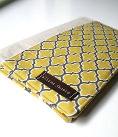 Shopping List Taker Organizer - Yellow Lattice - (without notepad). $30.00, via Etsy.