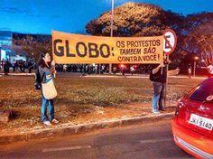Contra a Globo!