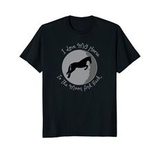 My Horse, Horses, Horse Stuff, Moon, Tees, Mens Tops, T Shirt, Supreme T Shirt, Tee