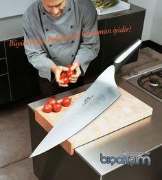 Büyük bıçak herzaman iyidir ya :) Boyu önemlidir arkadaş! Kim ne derse desin!