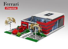 LEGO Ideas - Ferrari Flagship Showroom - Lego Speed Champions