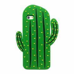 Super cute 3D saguaro cactus case for your iPhone.  Soft Durable Case Easy Camera Access Available for iPhone5 5s se/5c/6 6s/6plus 6splus