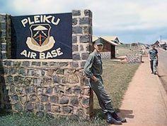 pleiku vietnam | Vietnam War Stories: Pleiku Air Base, Last days in Vietnam by: Ron ...