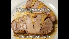 Fächerbraten mit Semmelfüllung  - euromeal.com Recipes, Cooking, Good Food, Recipies, Food Recipes, Recipe