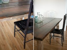little red house table Roundup: DIY Farmhouse Tables