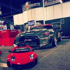 #Nissan #Lamborghini #RocketBunny #LibertyWalk #sema2014