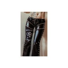 Wattpad Polyvore ❤ liked on Polyvore featuring pants, bottoms and toxic vision