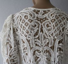 lace cutwork…