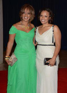 Gayle King & her beautiful daughter, Kirby Bumpus. Celebrity Couples, Celebrity Pictures, Celebrity Style, Celebrity Babies, Beautiful Family, Beautiful Black Women, Beautiful People, Simply Beautiful, Black Celebrities