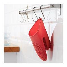 IKEA - STINN, Gant isolant, La silicone offre une bonne prise et isole de la chaleur.Lavable au lave-vaisselle ; facile d'entretien.