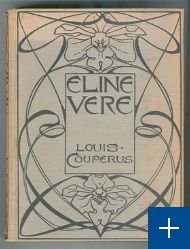 L.W.R. Wenckebach: band voor Louis Couperus, Eline Vere (herdruk 1898)