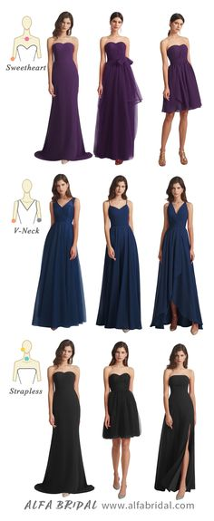 Looking for bridesmaid dresses for your bridal party? #Alfabridal is your destination. #bridesmaiddresses Plus Size Bridesmaids Gowns, Inexpensive Bridesmaid Dresses, Short Bridesmaid Dresses, Wedding Dresses, Wedding Themes, Wedding Colors, Petite Formal Dresses, Bridesmaid Inspiration, Long Shorts