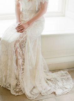 Gorgeous lace: http://www.stylemepretty.com/vault/gallery/38322   Photography: Taylor & Porter - http://taylorandporter.co.uk/