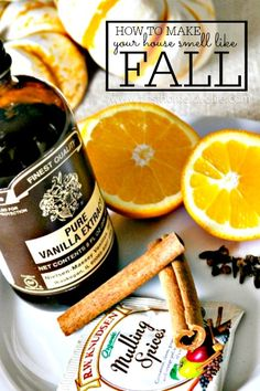 An incredibly easy and effective way to make your whole house smell deliciously like fall! via www.firsthomelovelife.com