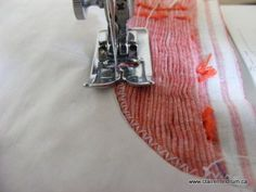 Great technique for cutting armholes on smocked fabric. Good pictures too.