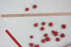 Paper Star Advent Calendar - Morning Creativity